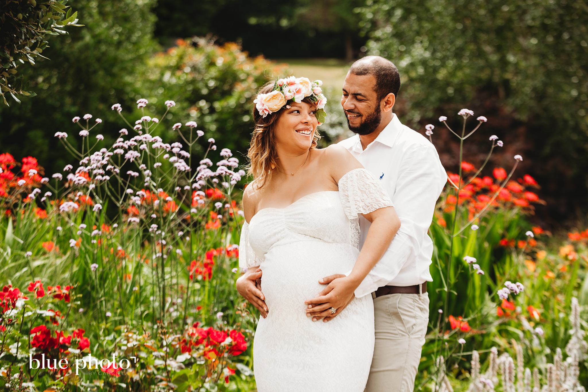maternity session in golders hill park