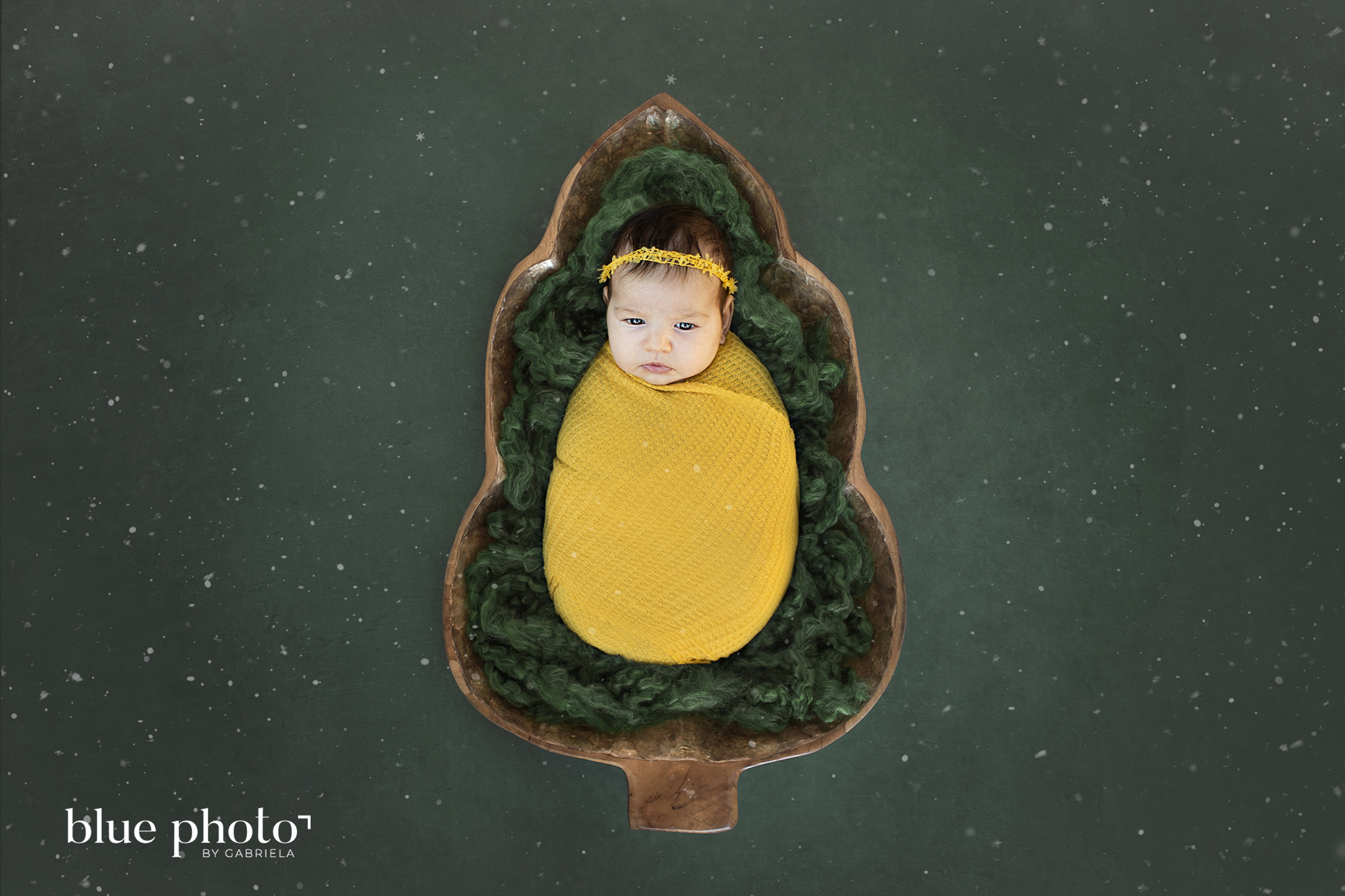 Newborn photography in West London, composition
